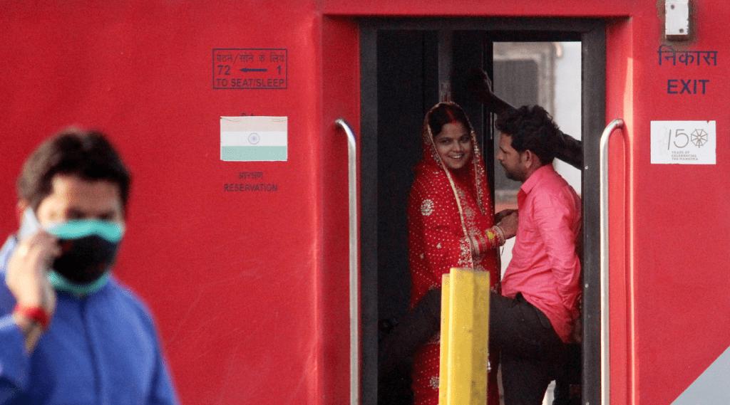 Rail Journey, Spitting, IRCTC