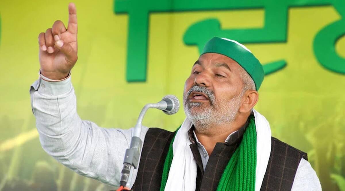 Singhu Border Killing News Anchor Asks Pushpendra Singh Who Is This Farmer Who Cut Human Hand Slams Rakesh Tikait