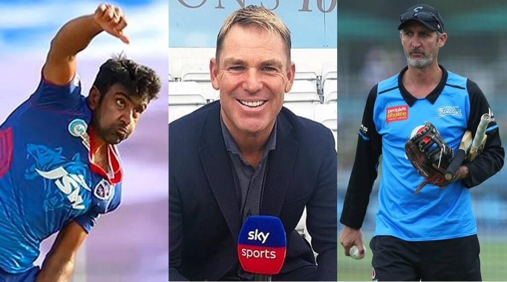 Ravichandran Ashwin Shane Warne Jason Gillespie IPL 2021 KKR vs DC Eoin Morgan