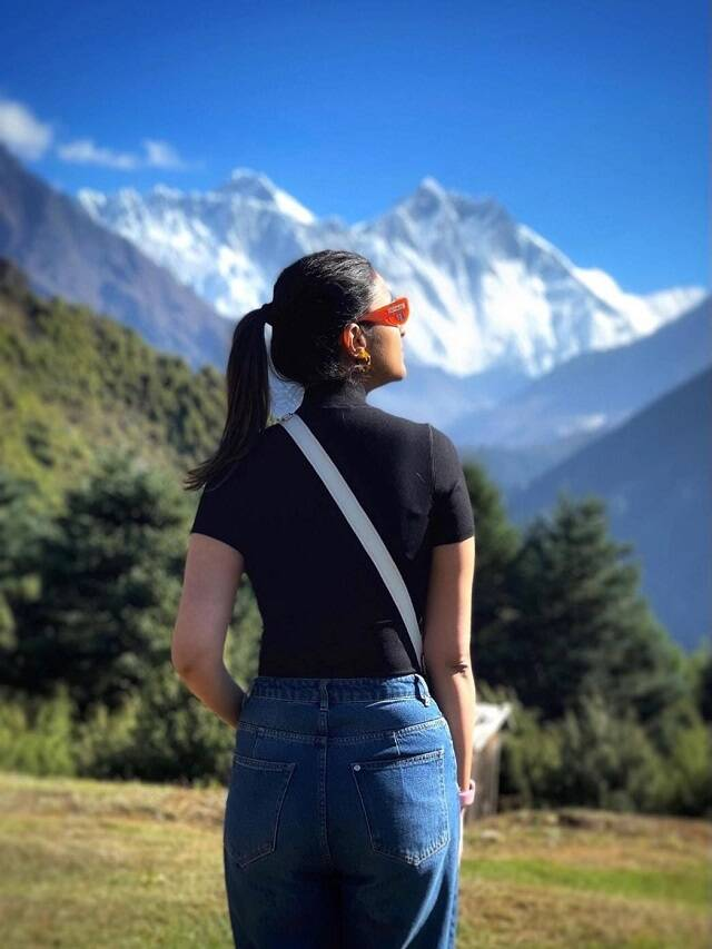 What is Parineeti Chopra doing in Nepal, see pictures