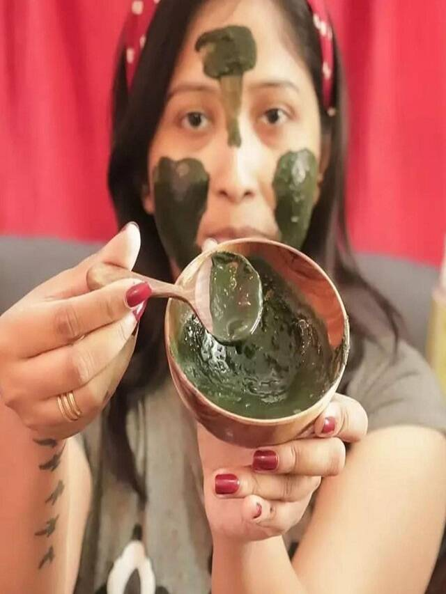 Make neem face pack like this sitting at home