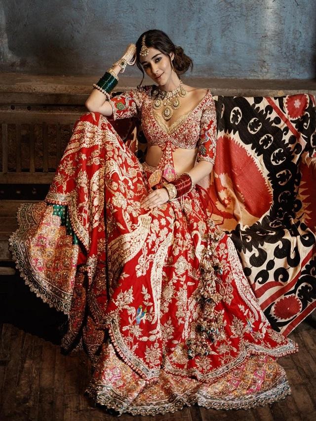 Ananya Pandey becomes bride, see beautiful bridal looks