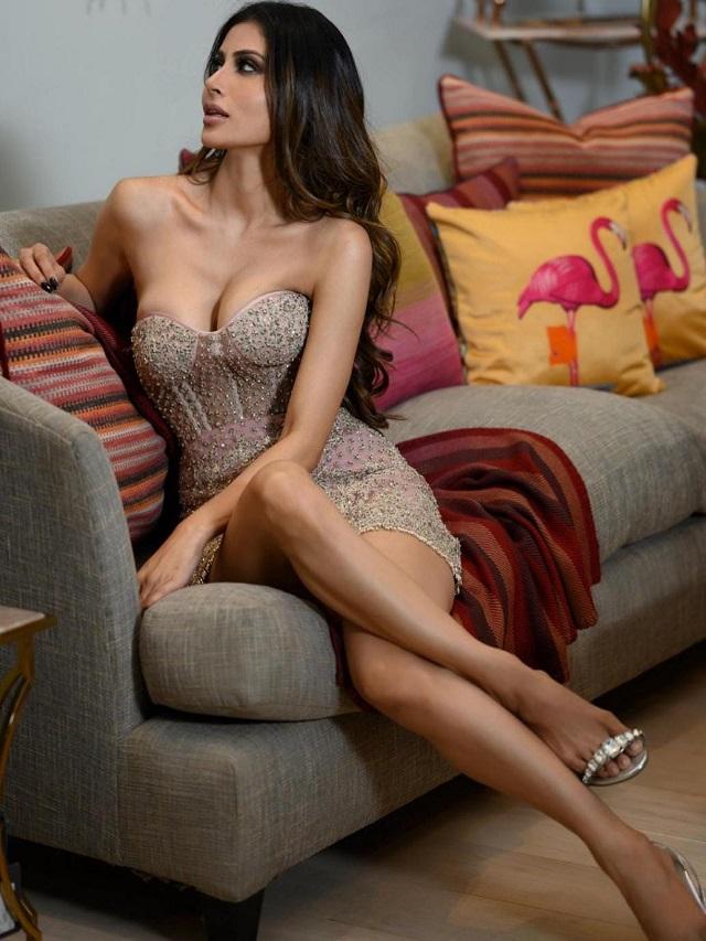 Mouni in 'Mini' Dress
