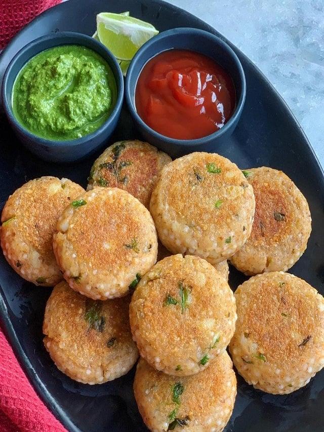 If it is a fast of Navratri, then make crispy sabudana tikki like this