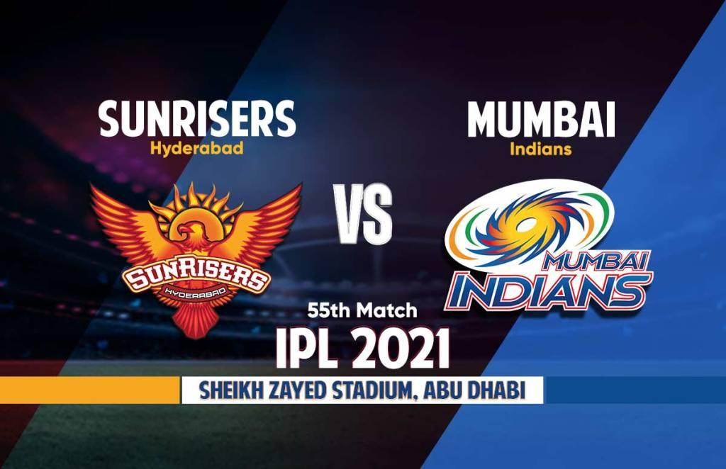 Mumbai Indians Vs Sunrisers Hyderabad Live Streaming: आईपीएल 2021 मुंबई इंडियंस बनाम सनराइजर्स हैदराबाद लाइव स्ट्रीमिंग