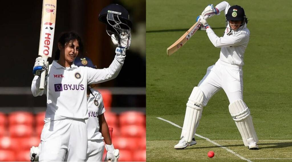 smriti-mandhana-creates-history-in-australia-by-hitting-test-century-full-of-records-in-pink-ball-test-indw-vs-ausw