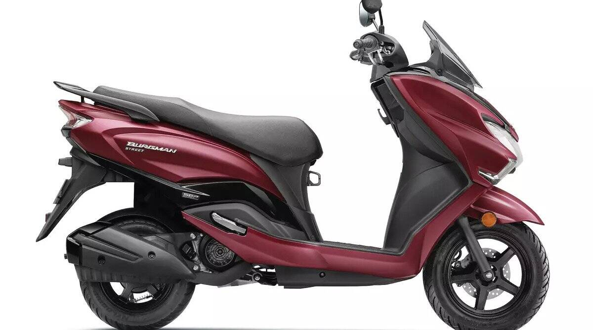 Take home premium design Suzuki Burgman Street by paying just 10 thousand rupees, this will be monthly EMI