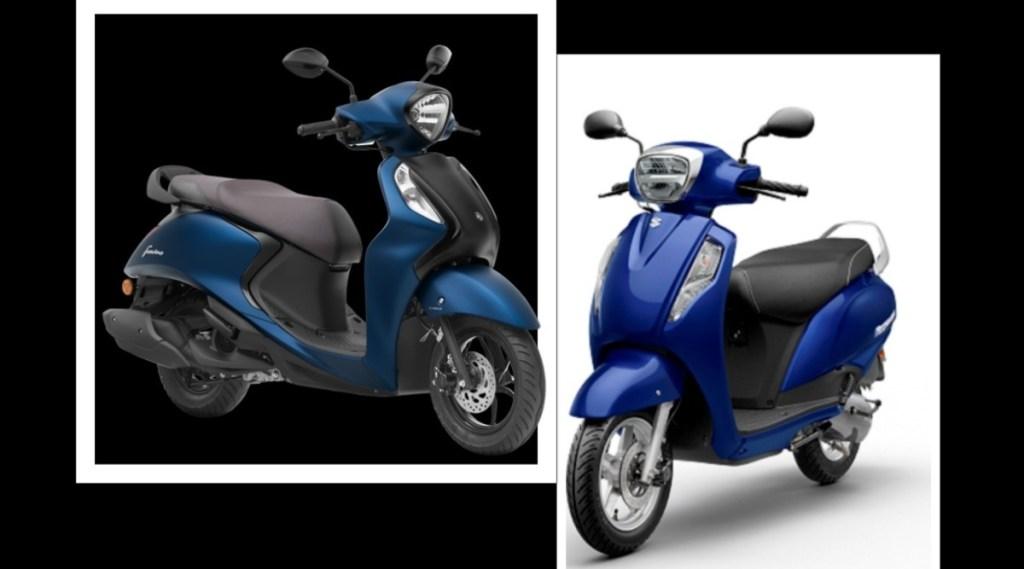 Suzuki Access 125 vs Yamaha Fascino 125