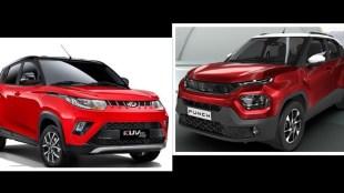 Tata Punch vs Mahindra KUV100