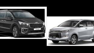 Toyota Innova Crysta vs Kia Carnival