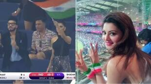 Urvashi Rautela Akshay Kumar Rishabh Pant India VS Pakistan2