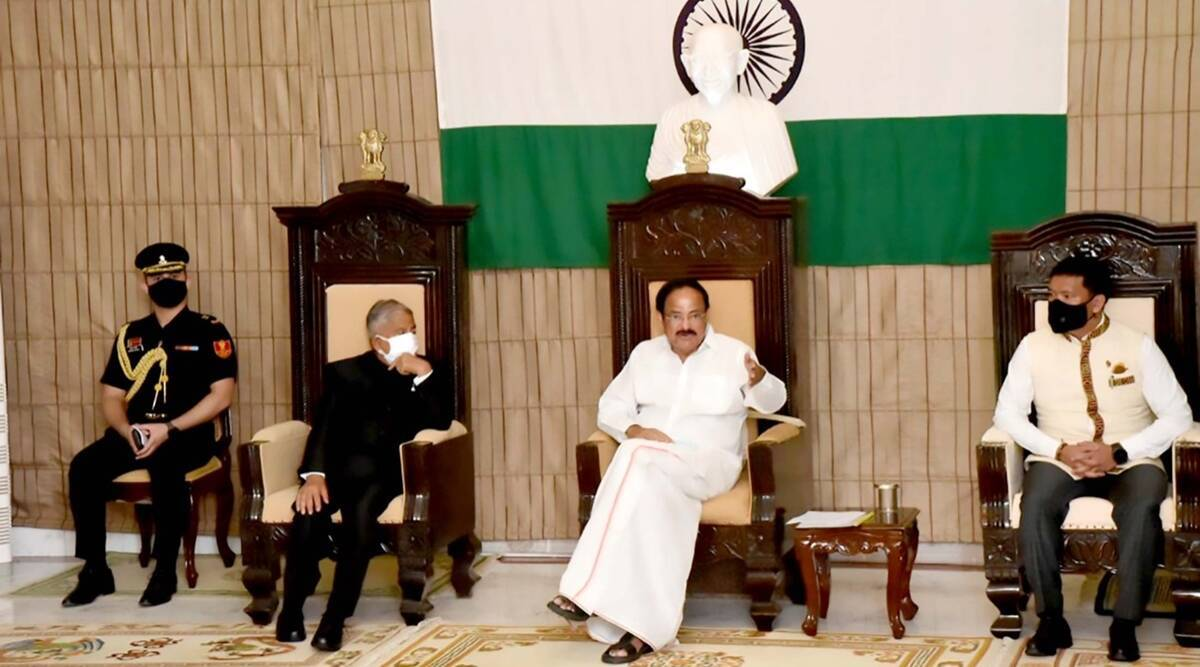 China objected to Vice President Venkaiah Naidu's visit to Arunachal, India gave a befitting reply