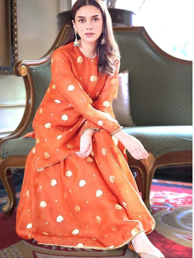 Aditi Rao Hydari's ethnic look
