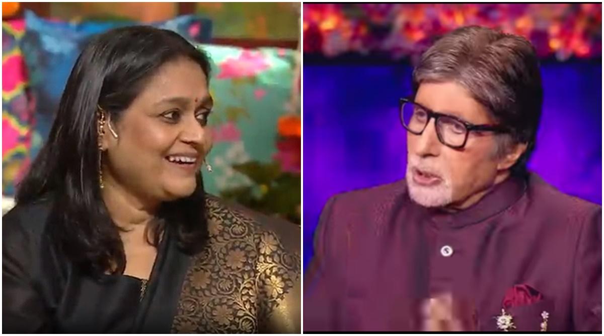 The Kapil Sharma Show Krushna Abhishek Gives Epic Idea To Supriya Pathak For Taking Shares In Amitabh Bachchan Property