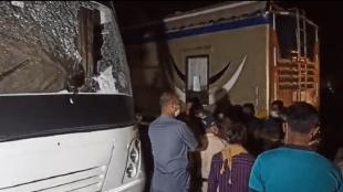 Ashram 3, Black ink thrown, Prakash Jha, Bhopal, Bajrang Dal activists