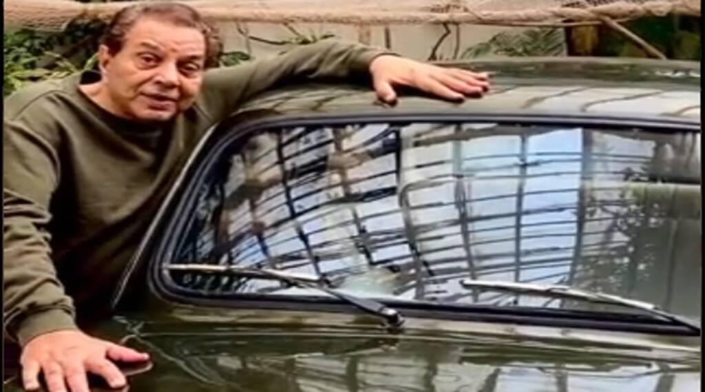 dharmendra, dharmendra first car, dharmendra twitter