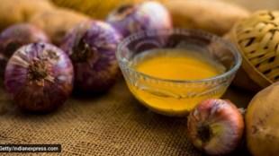 hair care, onion juice for hair, potato juice for hair