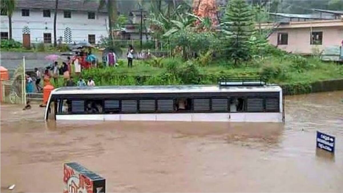 Severe floods after heavy rains in Kerala, 18 killed, many missing, alert in Delhi too