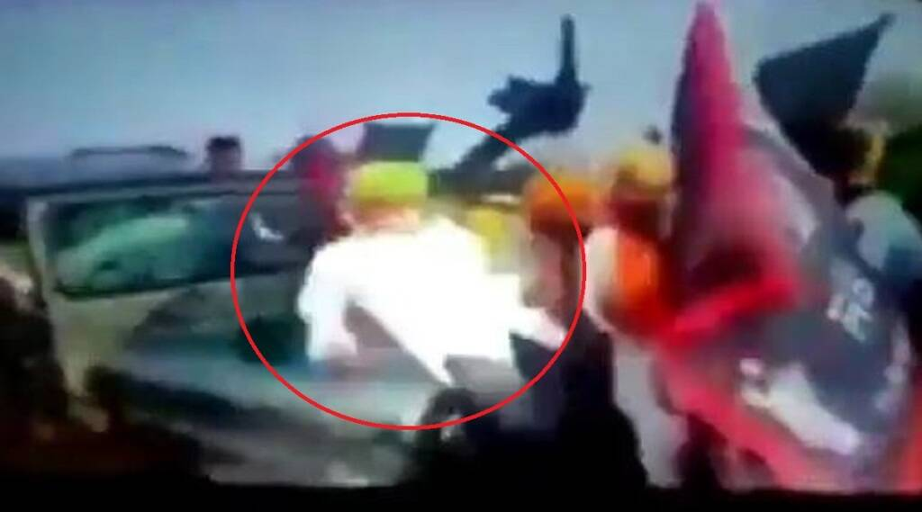 lakhimpur kheri viral video, lakhimpur kheri violence