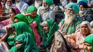 farmers Protest women