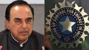 Subramanian Swamy,BCCI, Cricket NEws