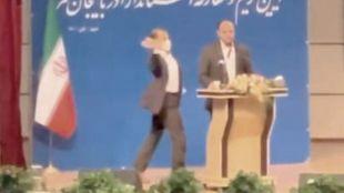Iran Governor Slapped