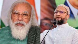 owaisi ,modi, BJP