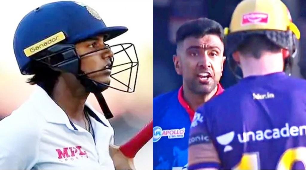ravichandran-ashwin-eoin-morgan-fight-in-discussion-indian-women-cricketer-punam-raut-shown-gesture-of-sports-spirit-indw-vs-ausw-pink-ball-test-video