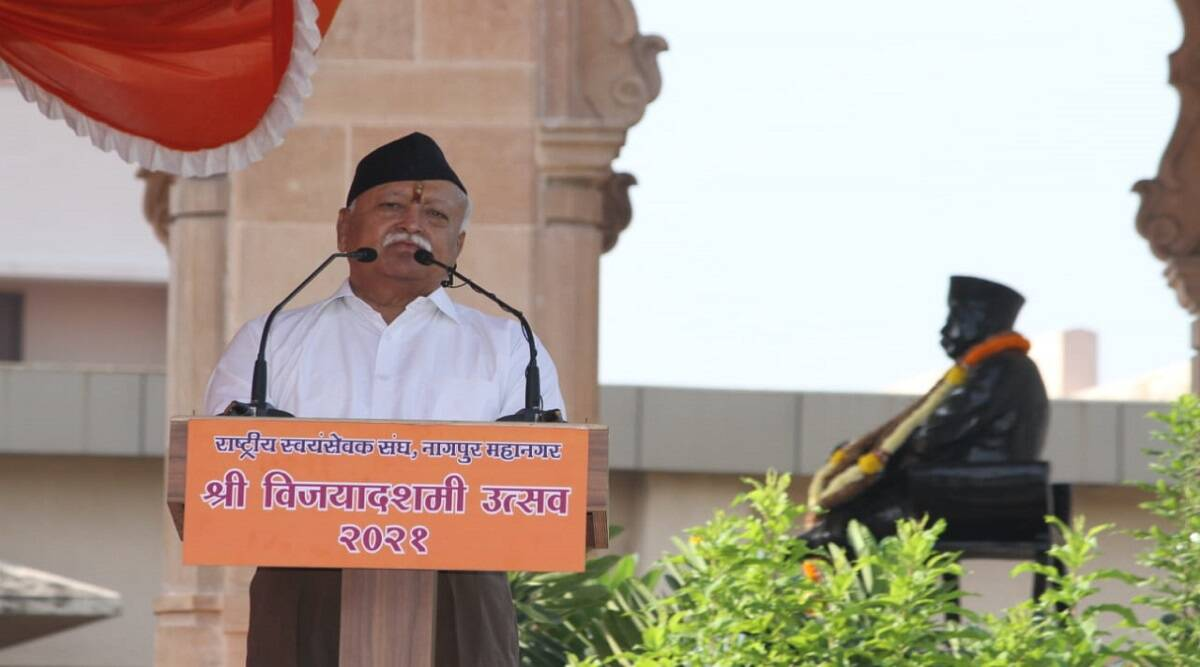On government control over temples, Mohan Bhagwat said – responsibility should be handed over to the devotees, only Hindus have the right on this
