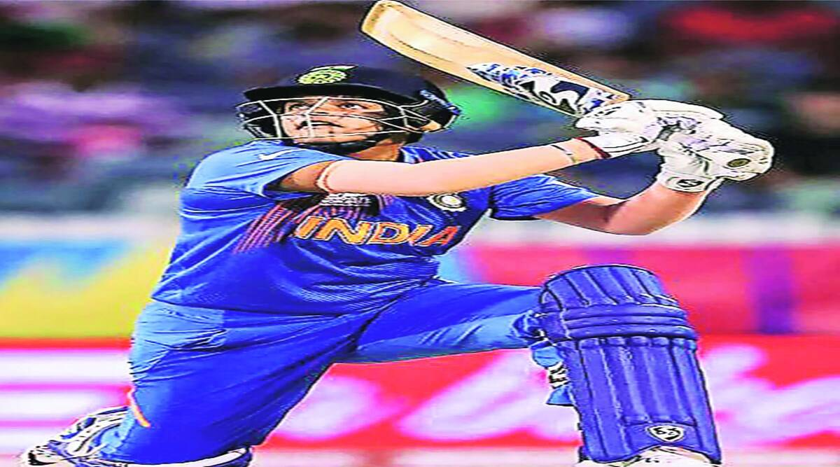 Women cricketers showed their strength