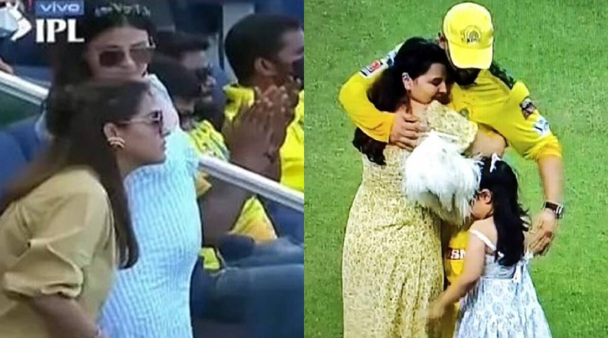 dhoni-pregnant-second-time-confirmed-by-suresh-raina-wife-priyanka-raina-news-viral-after-ms-dhoni-wife-spotted-many-times-in-ipl-2021-uae-leg – MS Dhoni is going to become a father for the second time?  News of wife Sakshi Dhoni's pregnancy goes viral on social media