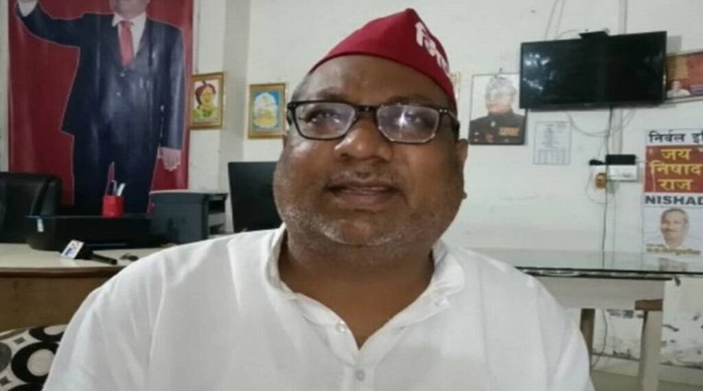 sanjay nishad, nishad party, gorakhpur, manish gupta murder