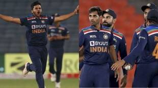bhuvneshwar-kumar-becomes-problem-for-team-india-after-practice-match-against-england-shardul-thakur-can-get-chance-in-team-for-t20-world-cup-2021