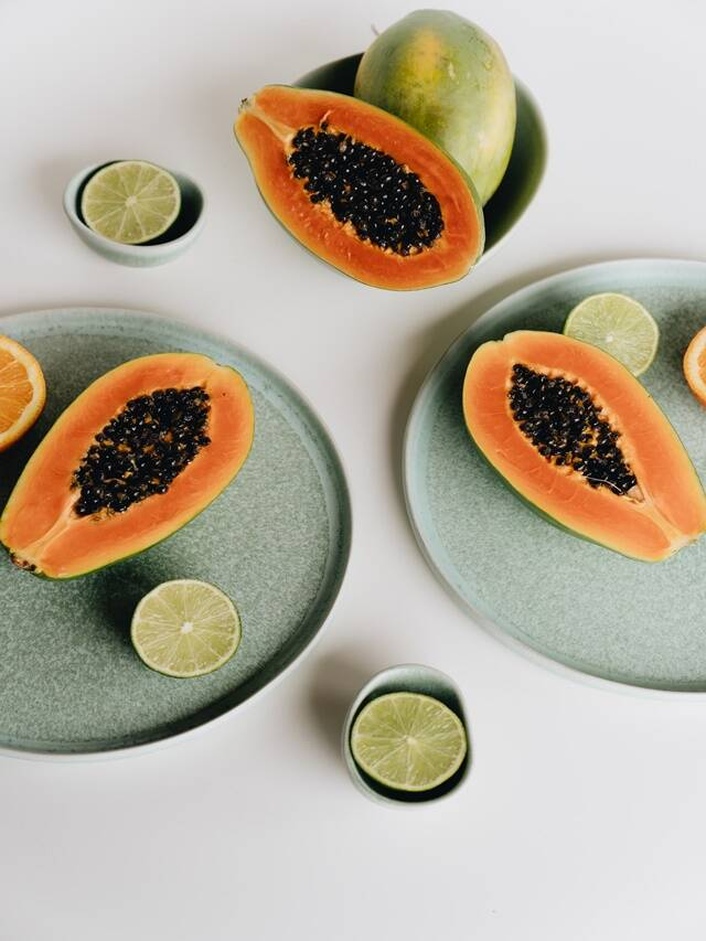 papaya face pack for flawless skin