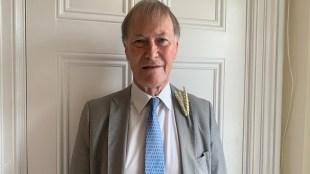British MP David Amess, UK MP David Amess